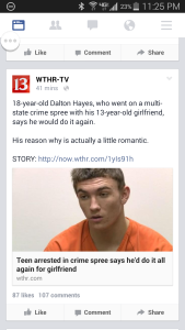 WTHR Romantic Screenshot