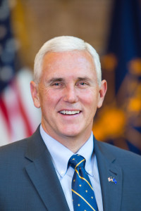 Indiana Governor Mike Pence (pic from in.gov)