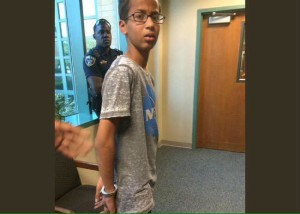 Ahmed Mohamed's Arrest, as posted on Twitter