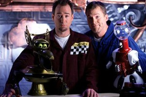 MST3K's Joel and Mike from mst3k.wikia.com